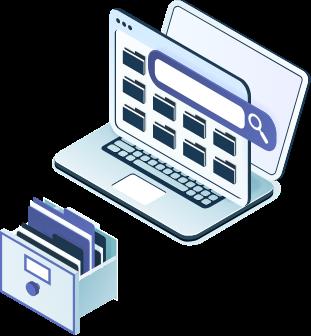 Control archivos online